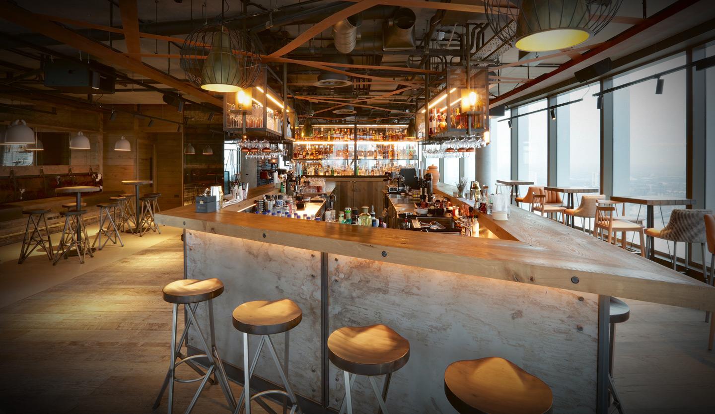 Bar Bōkan Restaurant Bar Amp Roof Terrace In Canary Wharf